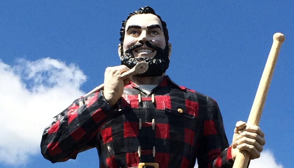 Paul Bunyan statue, Bangor, ME