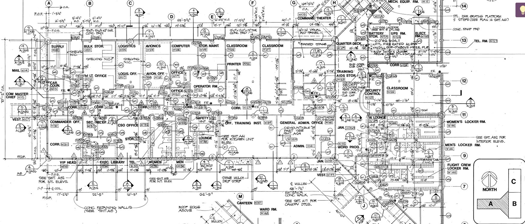 Floor plan of ASWOC