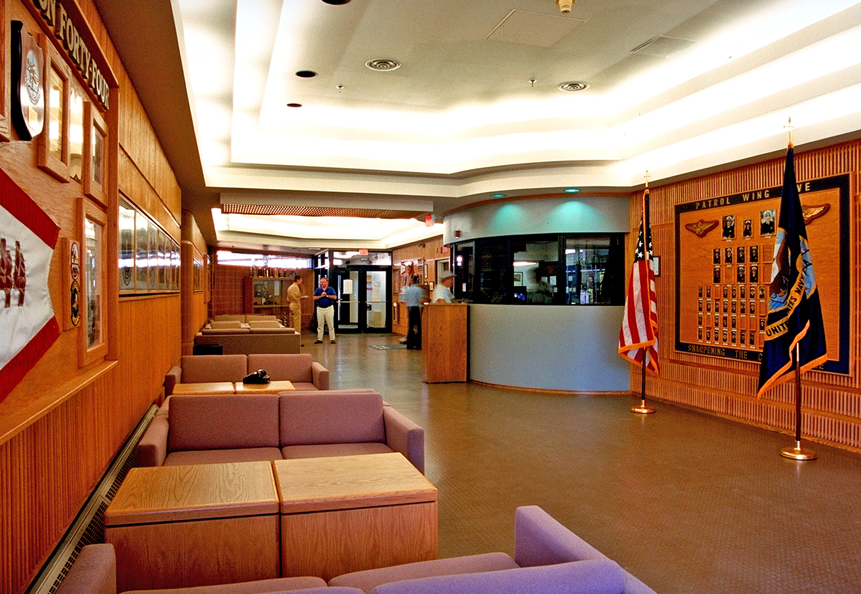 Photo of ASWOC interior for 40-year Retrospective