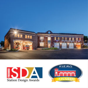 Hartford Fire Station Wins F.I.E.R.O. and Firehouse Station Design Awards