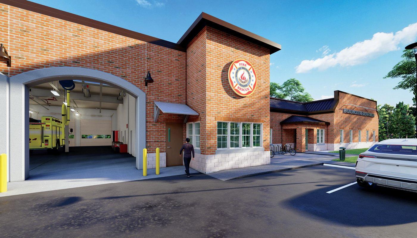 Brunswick Central Fire Station