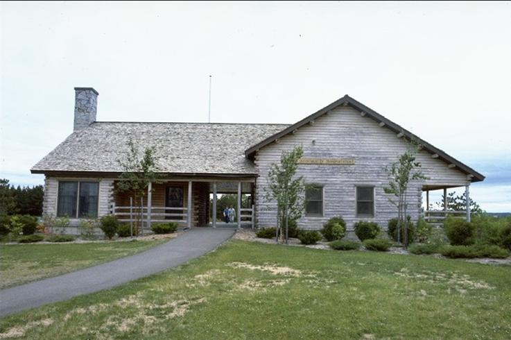 Houlton Tourist Center Entrance