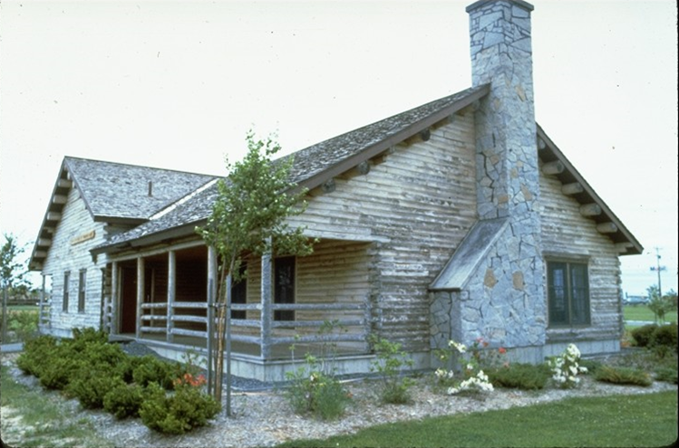 Houlton Tourist Center Exterior Corner