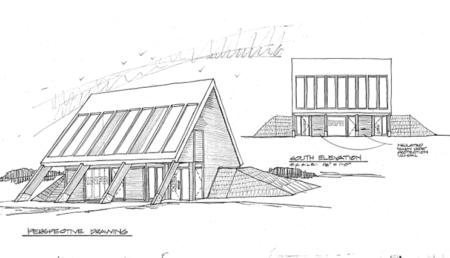 Houlton Tourist Center Option A