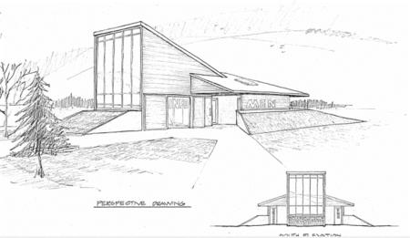 Houlton Tourist Center Option C