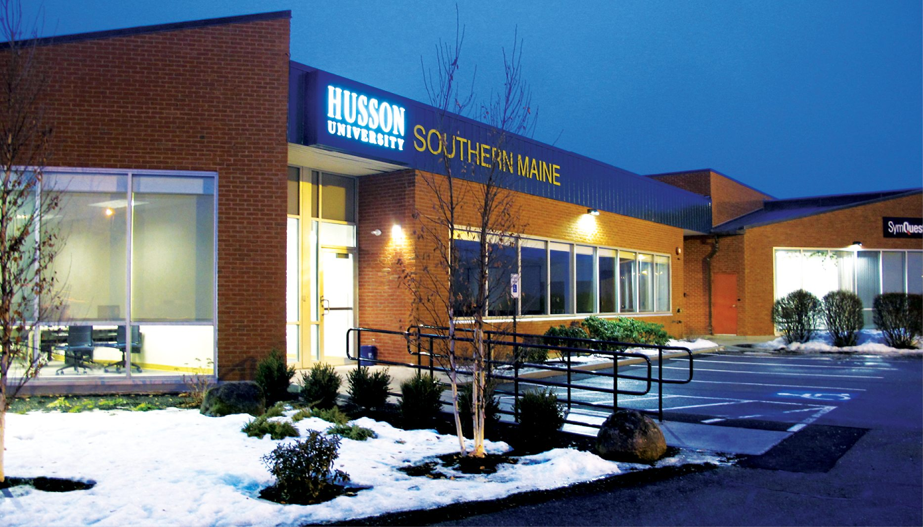 Husson Southern Maine Campus Renovation Wbrc Architects