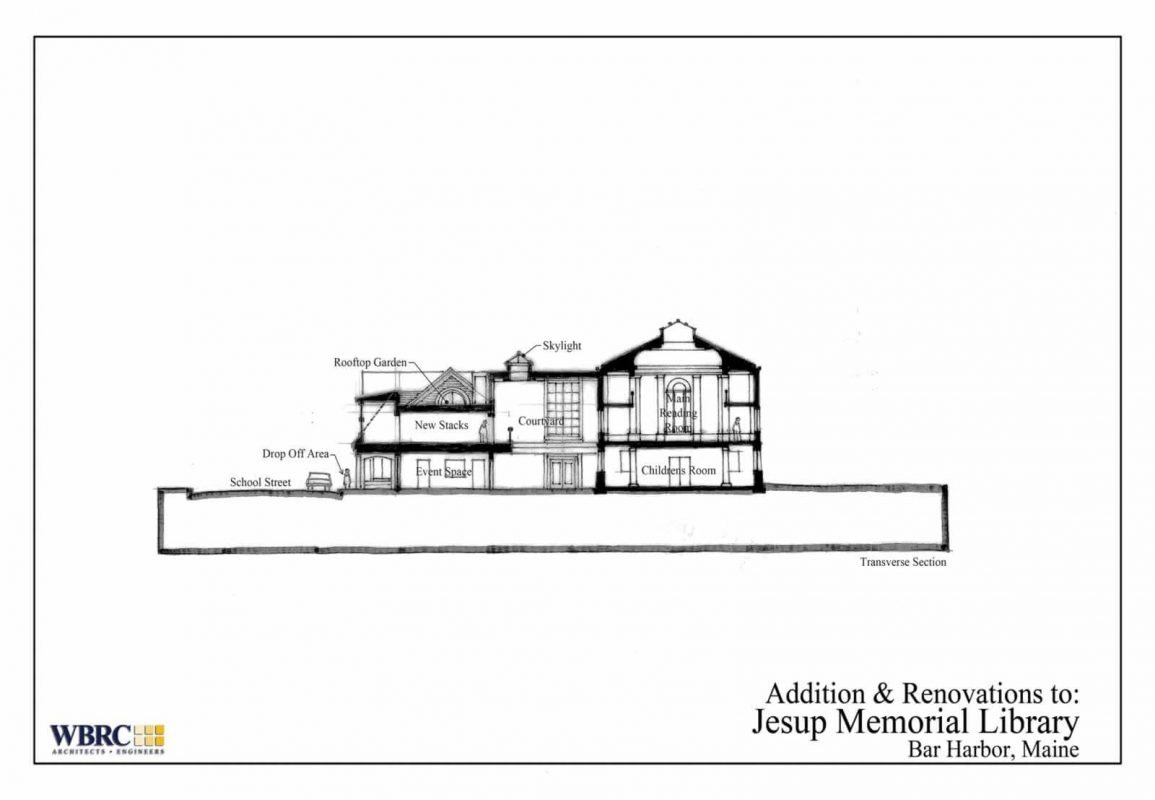 Jesup Memorial Library Expansion Concept