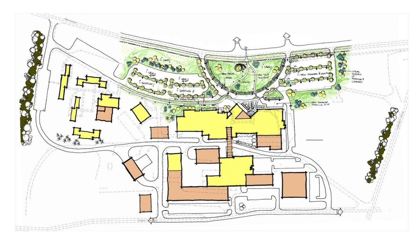 Husson University Campus Map.Nmcc Master Campus Plan Wbrc Architects Engineers