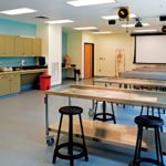 O'Donnell Commons Anatomy and Nursing Simulation Labs