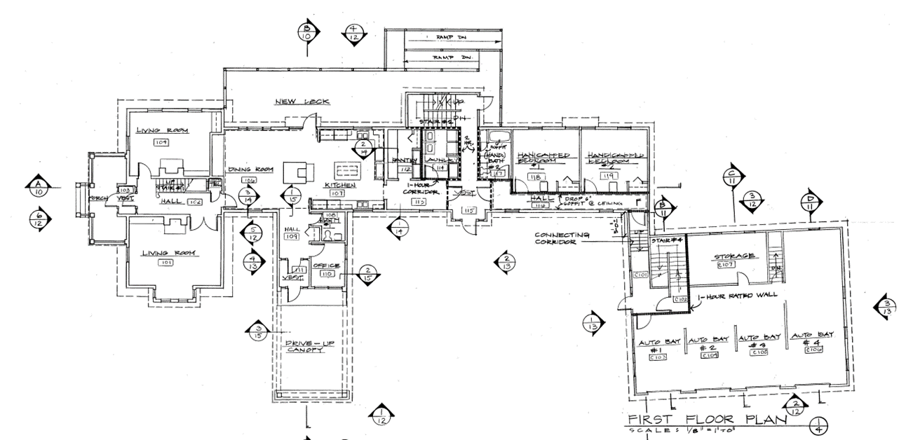 Ronald McDonald House Floor Plan