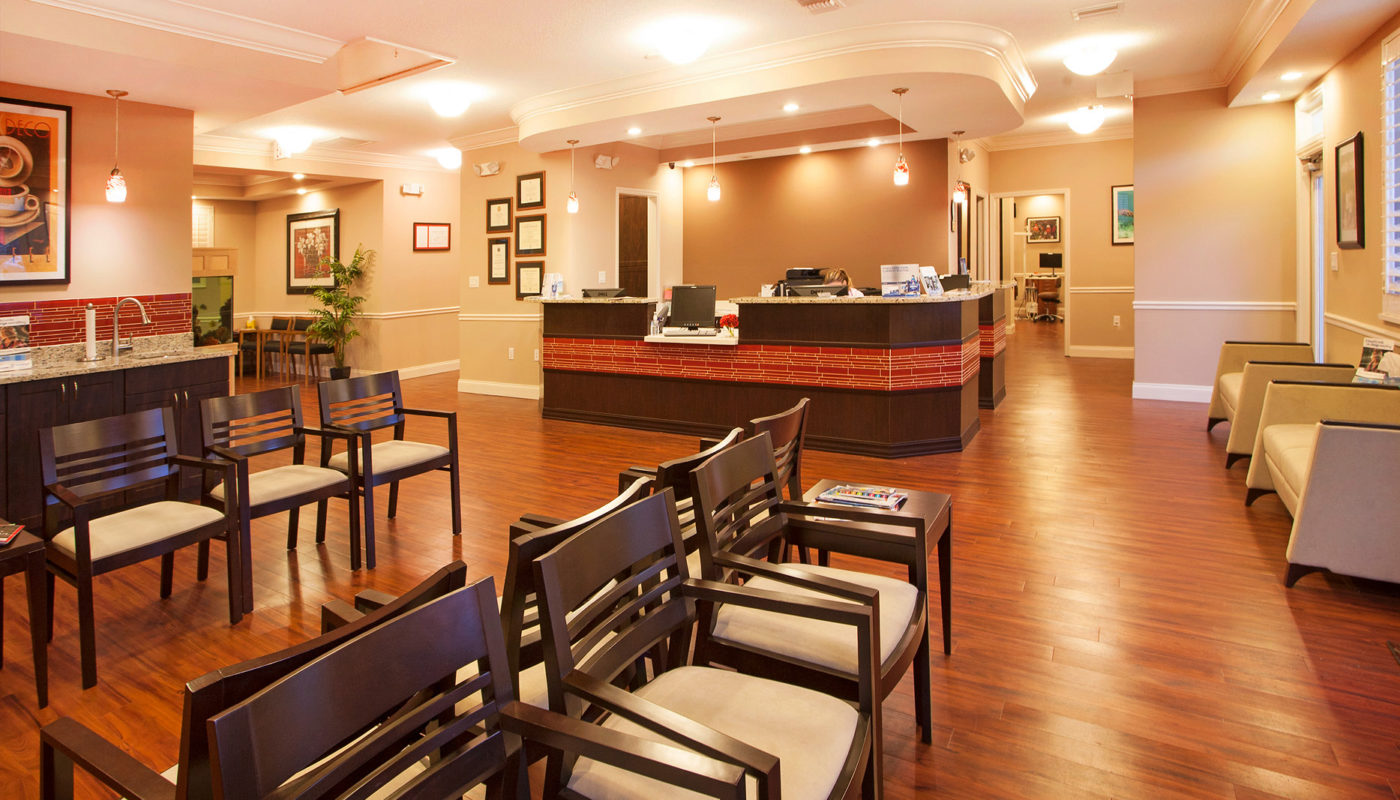 Schindel orthodontics renovation and expansion wbrc - Interior designers lakewood ranch fl ...