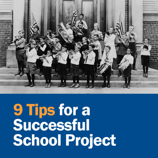 9 Tips for a Successful School Project
