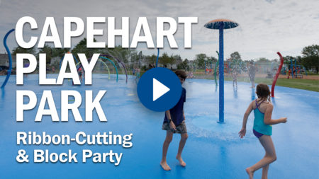 Capehart Play Park Ribbon Cutting & Block Party