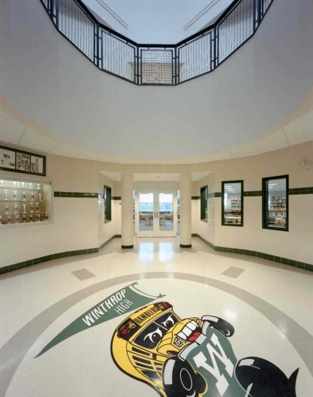 winthrop high school wbrc architects engineers